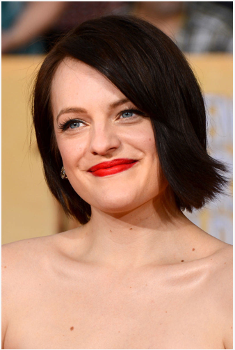 SAG AWARDS Elisabeth Moss red carpet